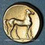 Münzen Zeugitane. Carthage. Statère d'électrum, vers 310-270 av. J-C