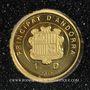 Münzen Andorre. Principauté. 1 diner 2012 (PTL 999‰. 0,5 g)