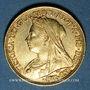 Münzen Australie. Victoria (1837-1901). Souverain 1896S. Sydney. 917 /1000. 7,99 gr