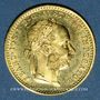 Münzen Autriche. François Joseph (1848-1916). 1 ducat 1915. Refrappe. 986 /1000. 3,49 gr