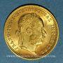 Münzen Autriche. François Joseph (1848-1916). 1 ducat 1915. Refrappe. (PTL 986‰. 3,49 g)
