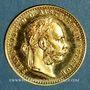 Münzen Autriche. François Joseph (1848-1916). 1 ducat 1915. Refrappe. (PTL 986/1000. 3,49 g)