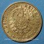 Münzen Bade. Frédéric I, grand duc (1856-1907). 10 mark 1881G. 900 /1000. 3,98 gr
