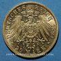 Münzen Bade. Frédéric I, grand duc (1856-1907). 20 mark 1894G. 900 /1000. 7,96 gr
