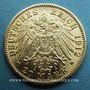 Münzen Bade. Frédéric II (1907-1918). 20 mark 1912G. 900 /1000. 7,96 gr