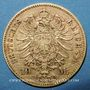 Münzen Bavière. Louis II (1864-1886). 10 mark 1872D. 900 /1000. 3,98 gr
