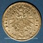 Münzen Bavière. Louis II (1864-1886). 10 mark 1874D. 900 /1000. 3,98 gr