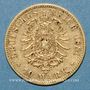 Münzen Bavière. Louis II (1864-1886). 10 mark 1881D. 900 /1000. 3,98 gr