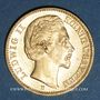 Münzen Bavière. Louis II (1864-1886). 20  mark 1872D. 900 /1000. 7,96 gr