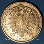 Münzen Bavière. Louis II (1864-1886). 20  mark 1873D. 900 /1000. 7,96 gr