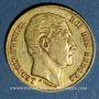 Münzen Belgique. Léopold I (1831-1865). 20 francs 1865. 900 /1000. 6,45 gr