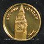 Münzen Burundi. République. 100 francs 2015. (PTL 999‰. 0,5 g)