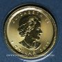 Münzen Canada. Elisabeth II (1952- ). 1 dollar 2017. Feuille d'érable. 999,9 /1000. 1,55 gr