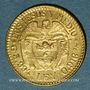 Münzen Colombie. République. 2,5 pesos 1924 (PTL 917‰. 3,99 g)