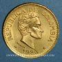 Münzen Colombie. République. 5 pesos 1925 MFDELLIN (PTL 917‰. 7,988 g)
