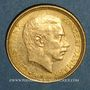 Münzen Danemark. Christian X (1912-1947). 10 kroner 1913 (PTL 900‰. 4,48 g)