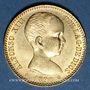 Münzen Espagne. Alphonse XIII (1886-1931). 20 pesetas 1890(90) MP-M. 900 /1000. 6,45 gr