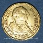 Münzen Espagne. Charles III (1759-1788). 1/2 escudo 1783M-JD. Madrid