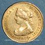 Münzen Espagne. Isabelle II (1833-1868). 4 escudos 1868 (8-6) Madrid (PTL 900/‰. 3,35 g)
