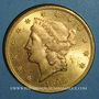 Münzen Etats Unis. 20 dollars 1895. (PTL 900‰. 33,43 g)