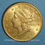 Münzen Etats Unis. 20 dollars 1898 S. San Francisco. (PTL 900‰. 33,43 g)