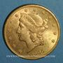 Münzen Etats Unis. 20 dollars 1900. (PTL 900‰. 33,43 g)