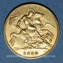 Münzen Grande Bretagne. Edouard VII (1901-1910). 1/2 souverain 1910. 917 /1000. 3,994 gr