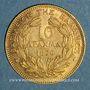 Münzen Grèce. Georges I (1863-1913). 10 drachmes 1876 A. (PTL 900‰. 3,22 g)