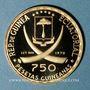 Münzen Guinée Equatoriale. République. 750 pesetas 1970. (900 /1000. 10,57 gr)