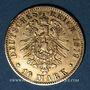 Münzen Hambourg. 10 mark 1879J. 900 /1000. 3,98 gr. Montée