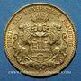 Münzen Hambourg. 10 mark 1893J. 900 /1000. 3,98 gr
