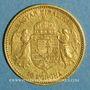 Münzen Hongrie. François Joseph I (1848-1916). 10 couronnes 1892. (PTL 900‰. 3,39 g)