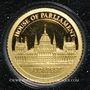 Münzen Iles Cook. Elisabeth II (1952 -/). 1 dollar 2012 (PTL 999‰. 0,5 g)