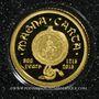 Münzen Iles Cook. Elisabeth II (1952 -/). 1 dollar 2015 (PTL 999‰. 0,5 g)