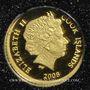 Münzen Iles Cook. Elisabeth II (1952 -/). 5 dollars 2008 (PTL 999‰. 0,5 g)