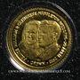 Münzen Iles Malouines. Elisabeth II (1952 - /). 1/64 crown 2001 (PTL 999‰. 0,5 g)