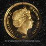 Münzen Iles Salomon. Elisabeth II (1952 - /). 5 dollars 2011. (PTL 999‰. 0,5 g)