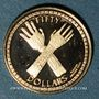 Münzen Iles Vierges. Elisabeth II (1952- /). 50 dollars 1988. 500 /1000. 2,07 g