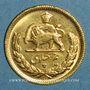 Münzen Iran. Mohammad Reza Pahlavi. Shah (1941-79). 1/2 pahlavi 1345ES (=1966). (PTL 900‰. 4,07 g)
