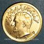 Münzen Iran. Mohammad Reza Pahlavi. Shah (1941-79). 1/2 pahlavi 1354ES (1975). (PTL 900/1000. 4,07 g)