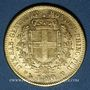 Münzen Italie. Sardaigne. Victor Emanuel II (1849-1878). 20 lires 1859P. Gênes. 900 /1000. 6,45 gr