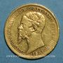 Münzen Italie. Sardaigne. Victor Emmanuel II (1849-1861). 20 lires 1851B. Turin. (PTL 900/1000. 6,45 g)