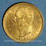 Münzen Italie. Umberto I (1878-1900). 20 lires 1881 R. Rome. (PTL 900‰. 6,45 g)
