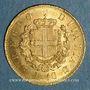Münzen Italie. Victor Emmanuel II (1861-1878). 10 lires 1863T BN. Turin. (PTL 900‰. 3,22 g)