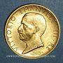 Münzen Italie. Victor Emmanuel III (1900-1946). 100 lires 1931, an IX. (PTL 900‰. 8,799 g)