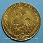 Münzen Mexique. 1ère République. 8 escudos 1863 CH. Mexico. (PTL 27,07 g. 875 ‰)