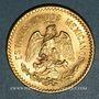 Münzen Mexique. République. 10 pesos 1917. (PTL 900 /1000.  8,33 gr)