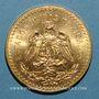 Münzen Mexique. République. 50 pesos 1947. (PTL 900/1000. 41,67 g)