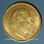 Münzen Monaco. Charles III (1856-1889). 100 francs 1884 A. (PTL 900‰. 32,258 g)