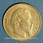 Münzen Monaco. Charles III (1856-1889). 20 francs 1878, 7 bas. (PTL 900‰. 6,45 g)